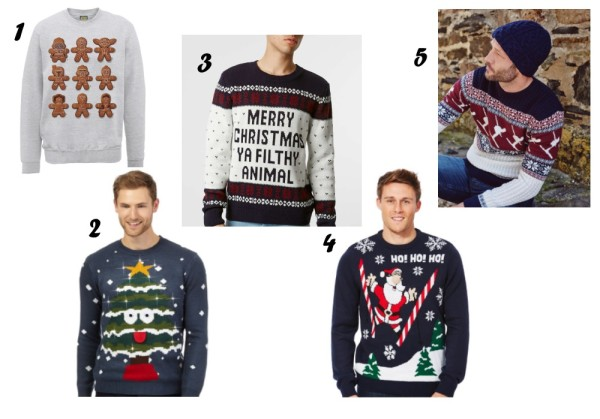 xmas gifting ideas for men funny and geeky christmas jumper
