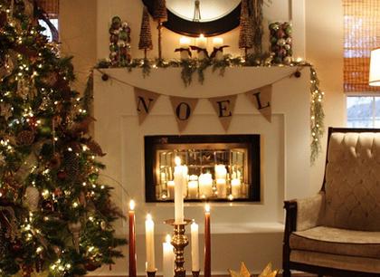 Fairytale Christmas Decorations.Rustic Christmas Decorations Ideas The Fairytale Pretty