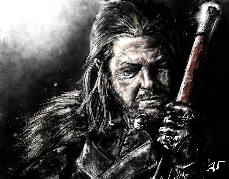 Eddard Stark by Jaimus
