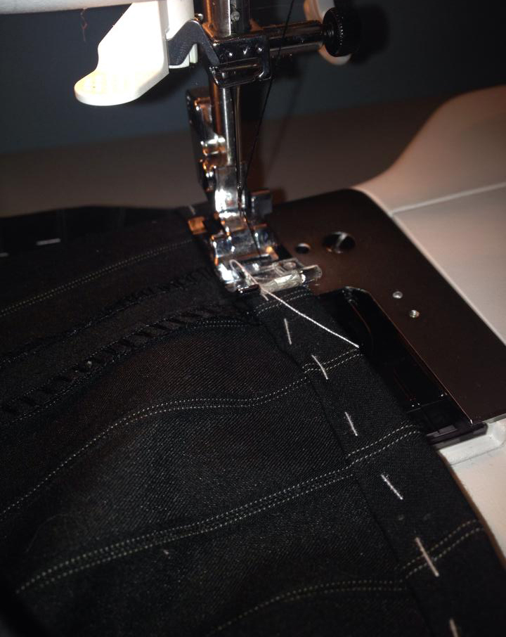 sewing machine trousers
