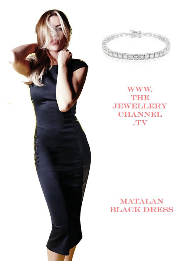 dress and bracelet
