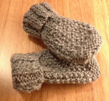 Baby Mittens Knitting Pattern The Fairytale Pretty Picturethe