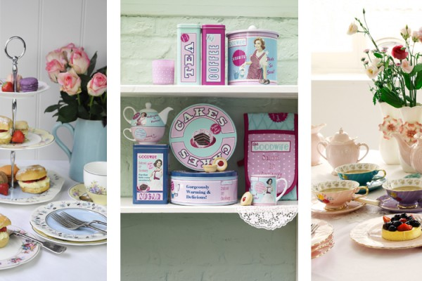 afternoon tea ideas with pastels and images