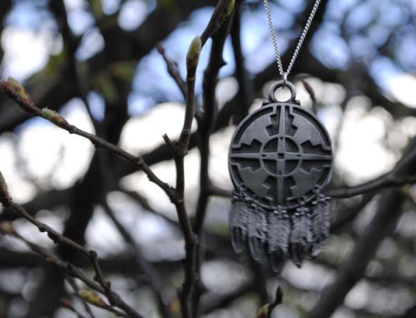 jewellery black tied necklace