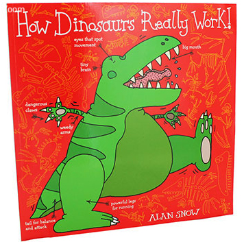 Dinosaur kids book