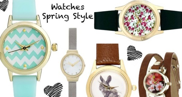 watch trends spring style