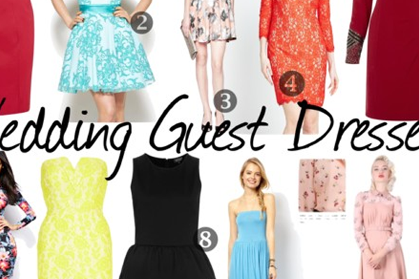 wedding guest dresses outfit ideas