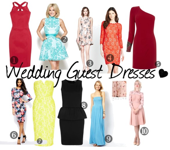 Guest Post: What to Wear to a Wedding -