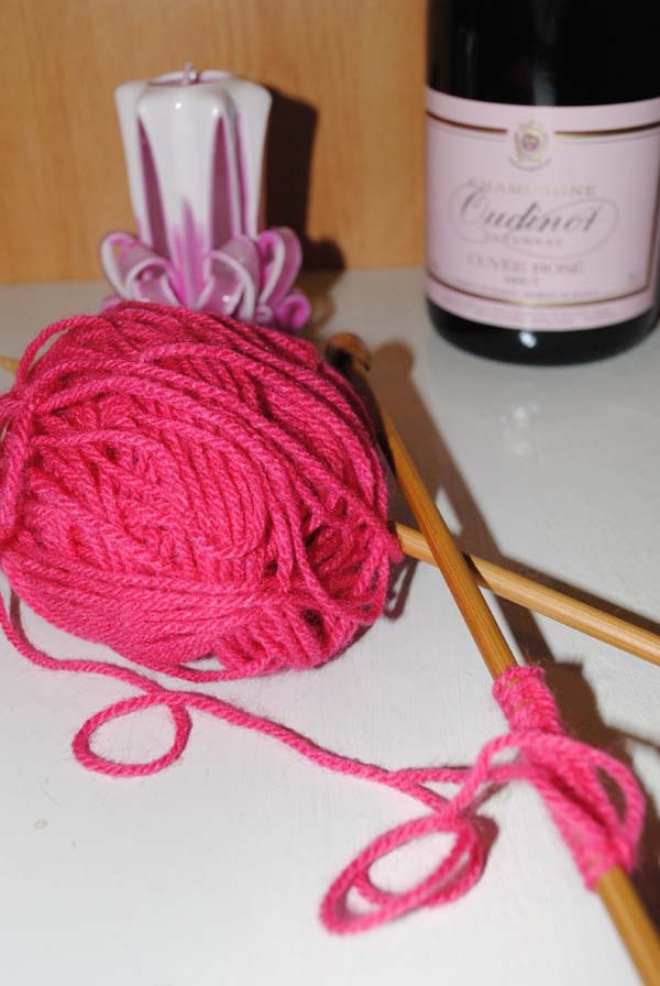 knitting ideas star pink