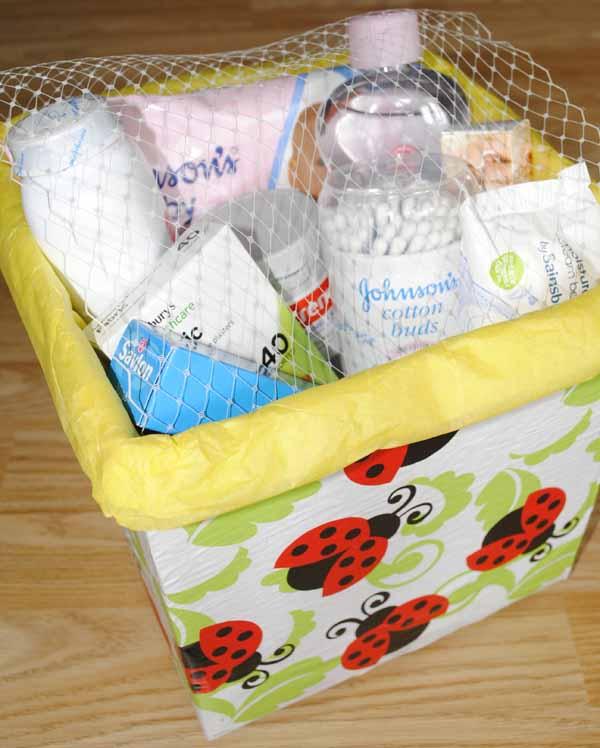hamper diy baby essentials gift box idea for mum to be