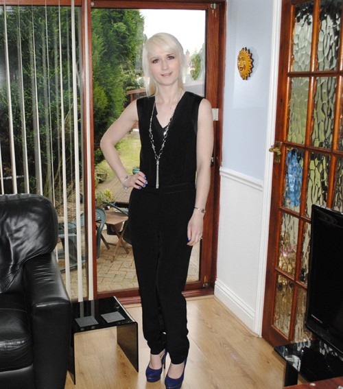reiss jumpsuit at uk blog awards