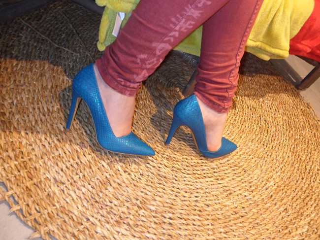 blue snake skin call it spring heel shoes