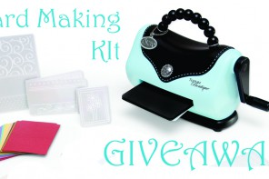 GIVEAWAY of a Card Making Beginner's Kit from Hobbycraft