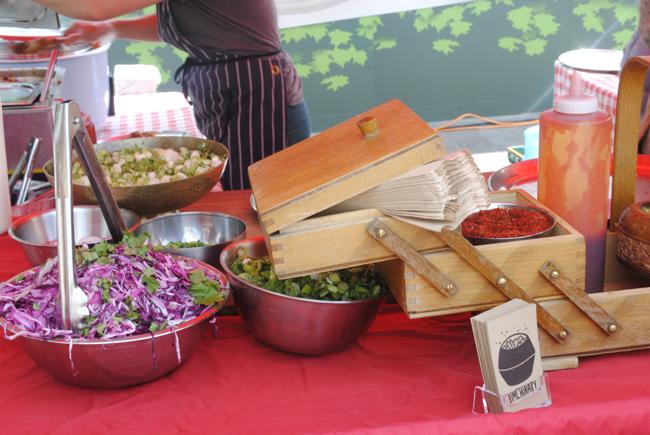 kerb market food photography