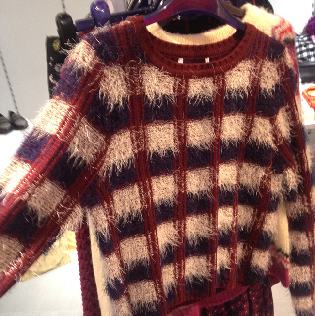 Checked jumper Henry Holland