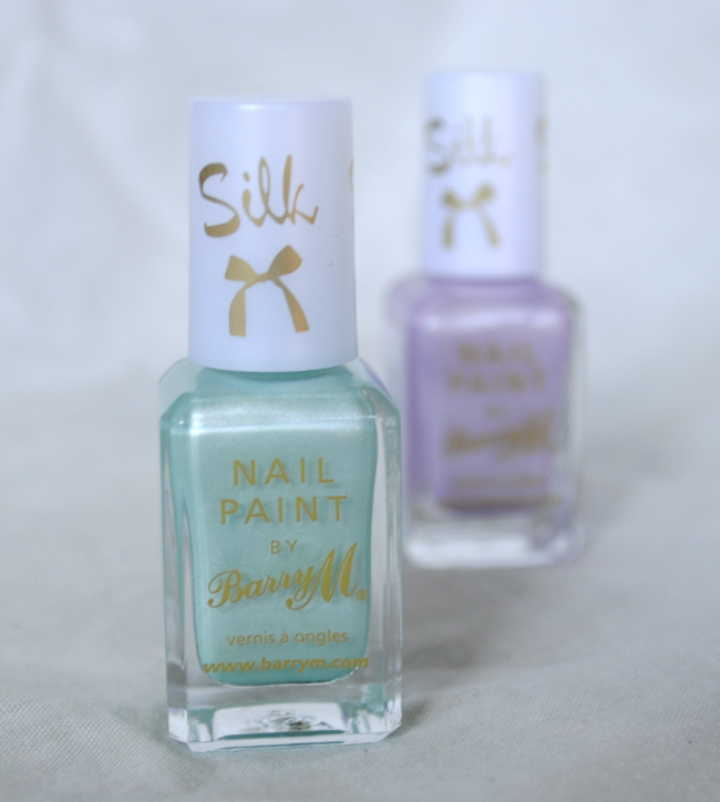 barry m pastel blue nail polish