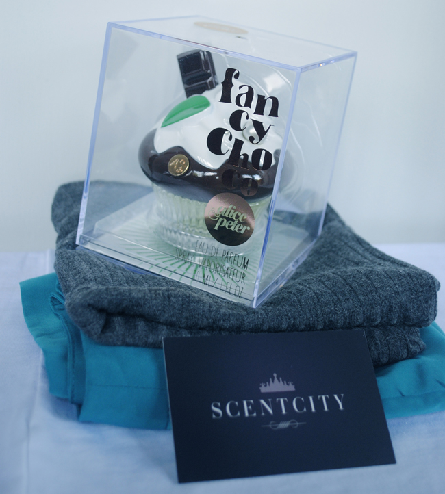 fancy chocolate perfume from scent city