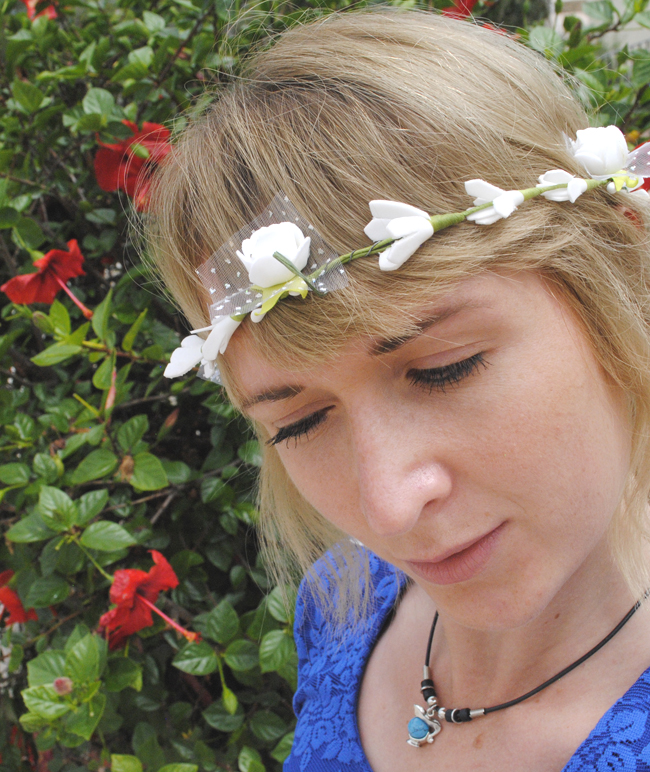 flower crown headband fashion accessory