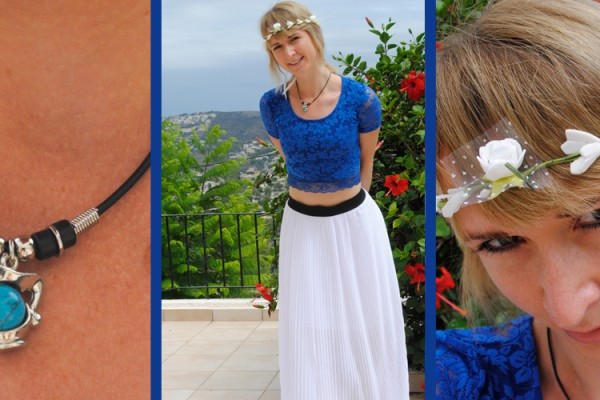 outfit of the day spain holiday clothes fashion blue white black accessories and more