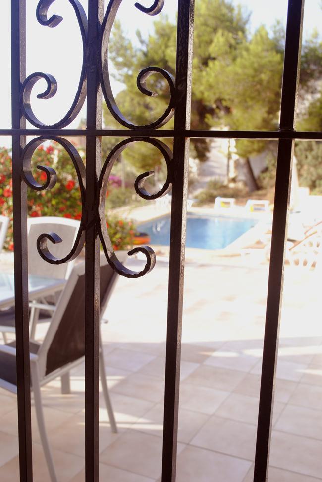 swimming pool summer spain villa