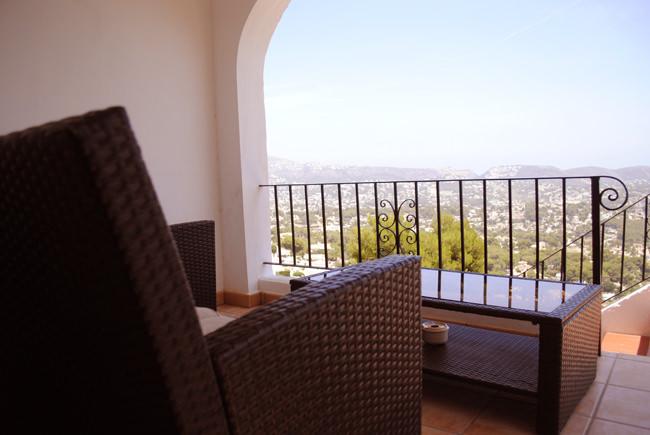 veranda spain villa view seating area balcony