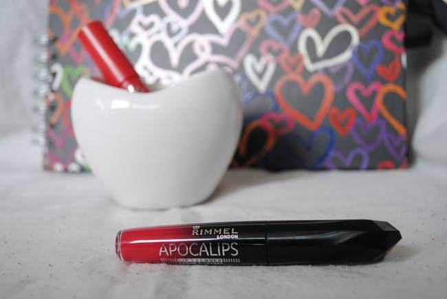 apolcalips rimmel london lip stick review red