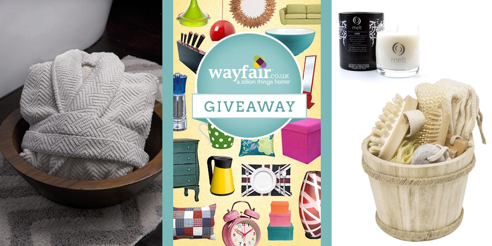 home spa pampering beauty relaxing set wayfair giveaway competition