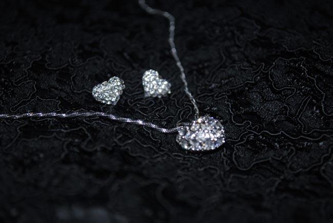 jon richard heart necklace and earrings accessories from debenhams