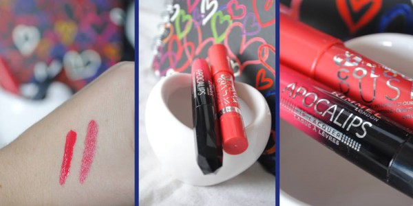 lipstick, lip crayon rimmel london apocalips colour rush beauty review
