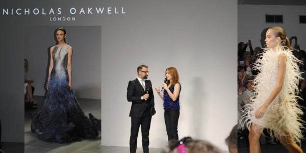 nicholas oakwell designer catwalk fashion week