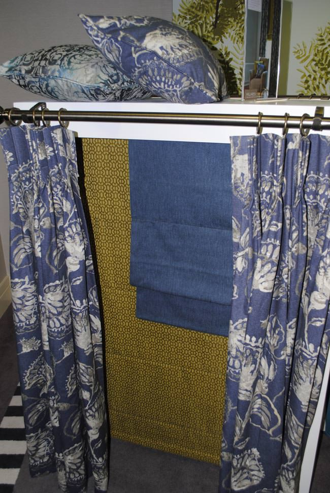 patterned curtain hillarys blinds collection autumn winter 2014