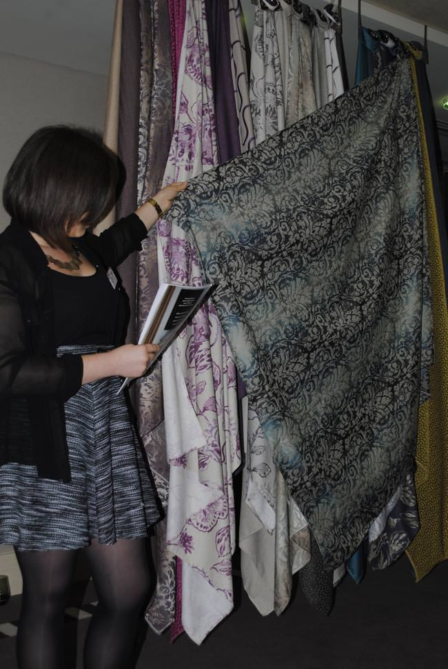patterned curtain interior decor demonstration preview and review