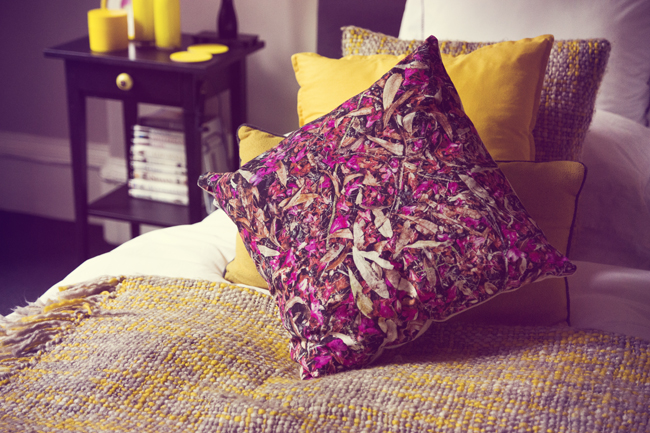 WE home cushion and cover interior blogger