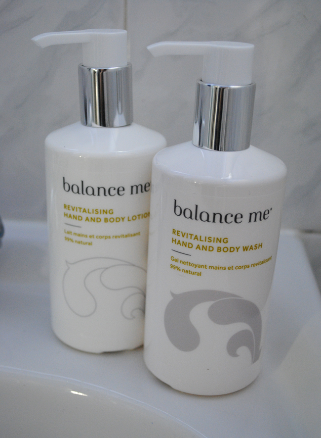 balance me hand wash lotion review