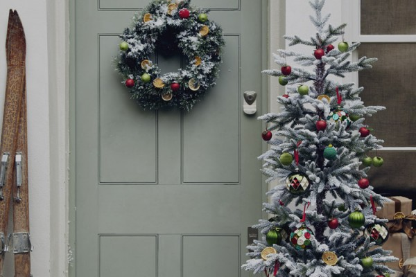Christmas time shut the front door blog style