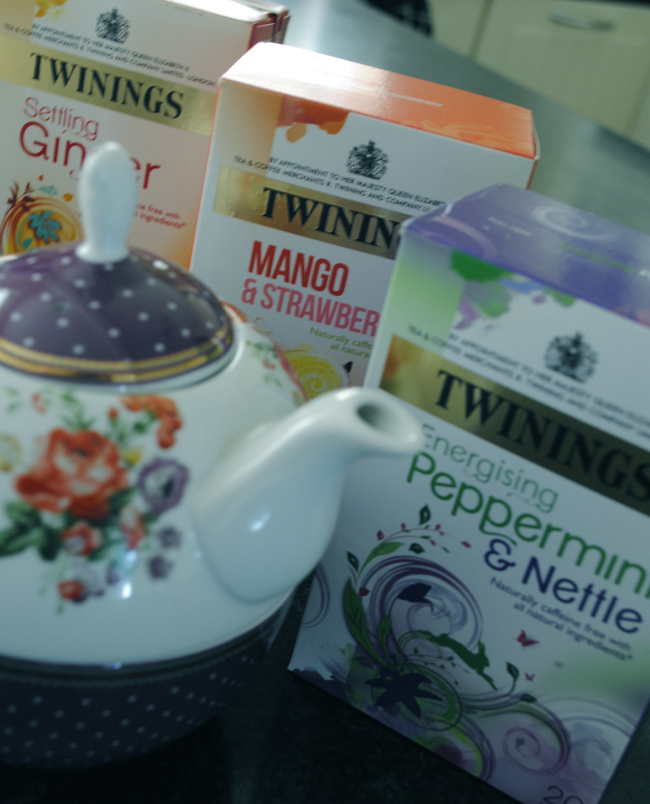 Twinings tea assortment cup food blog
