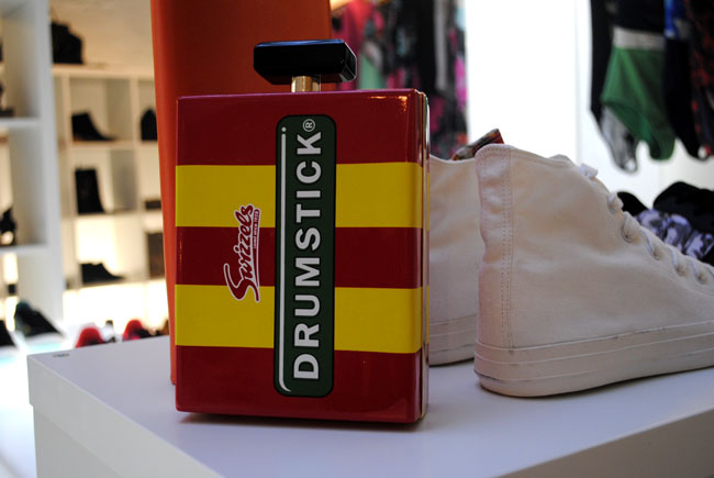 drumsticks bag from next press event