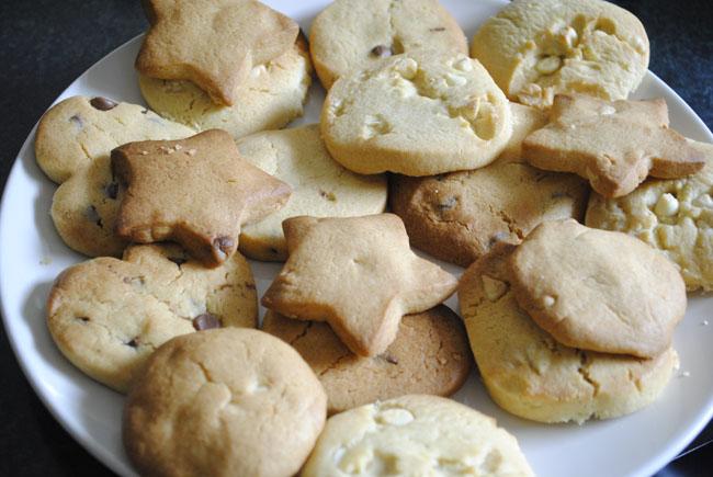 yummy cookies nom nom food blog