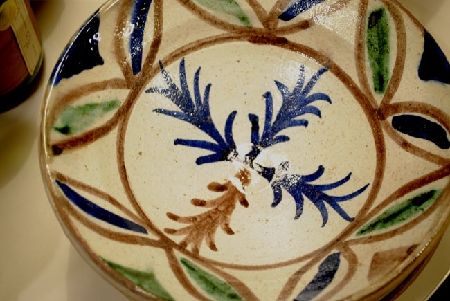 plate aria home kitchen items patterned