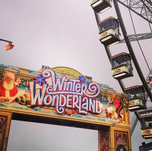 winter wonderland sign london hyde park visit