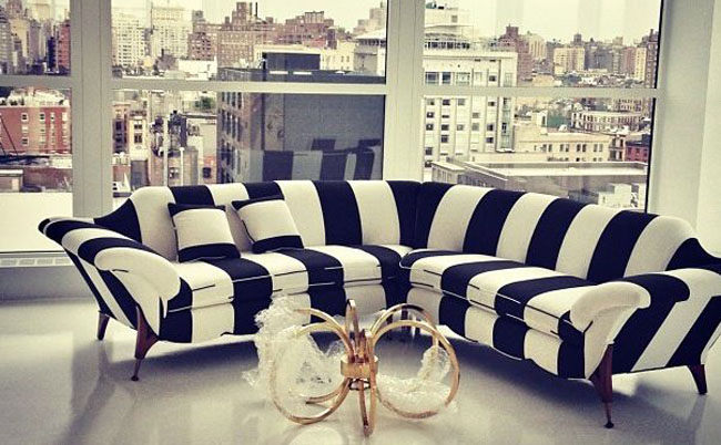 My Black And White Sofa Idea. Pinterest