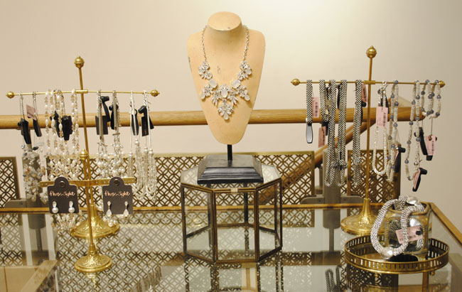 wedding jewellery at phase eight bridal event bloggers