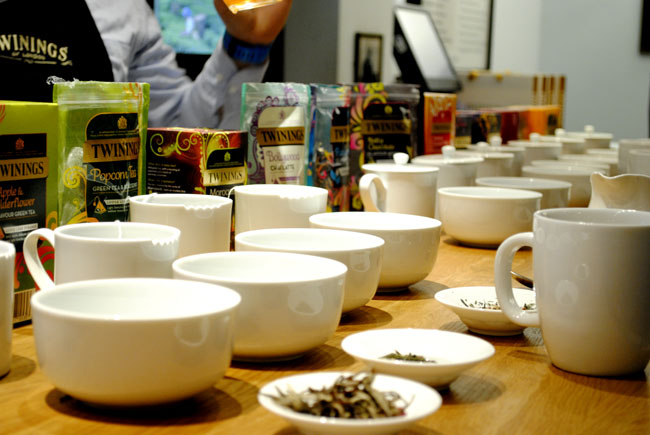 Twinings tea selection blends new variety at the flagship store