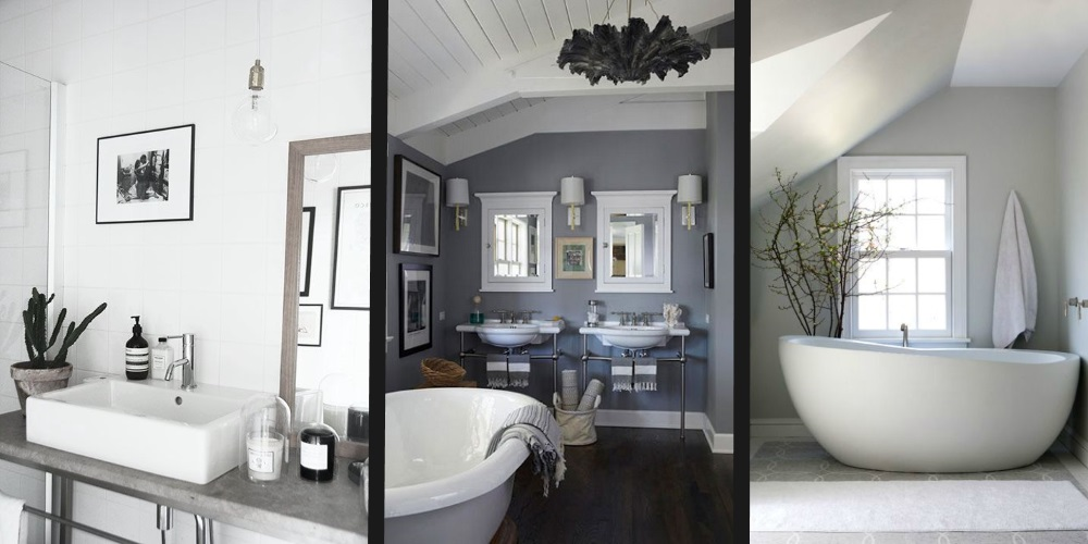 Guest Post: 3 Modern Bathroom Ideas : pretty-bathroom-ideas - designwebi.com