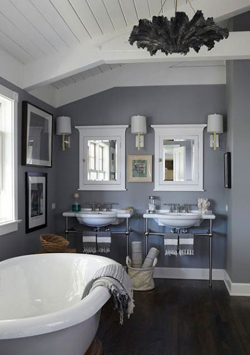 grey bathroom idea trend 2015 interior