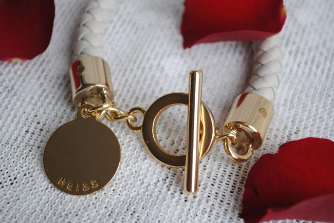 jewellery gift ideas white leather reiss fashion