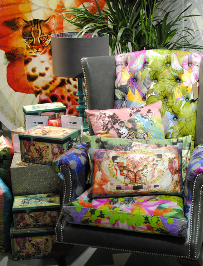 patterns layering colourful interior design collection by laura oakes