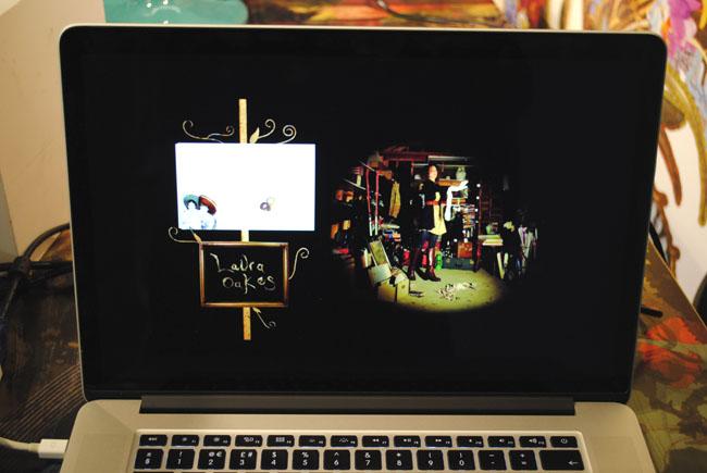 video of decoupage artistic  interior design collection