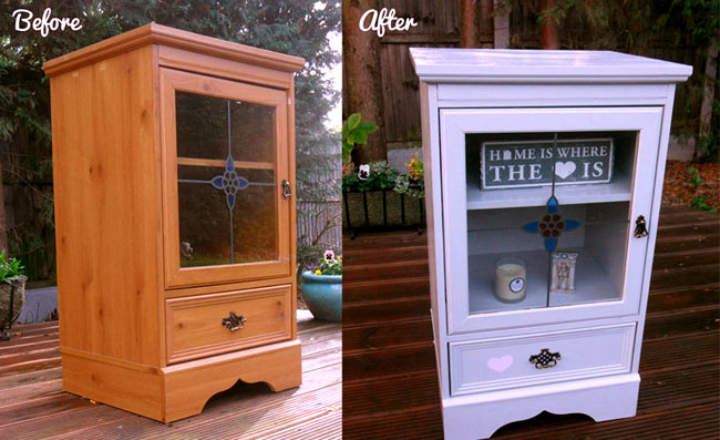 furniture makeover before and after picture interior styling