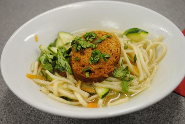 thai broth recipe at cooking class asain food